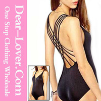 Sexy extreme Black Shimmer Lattice sexy fashion young girl very popular korean hot sex swimsuit