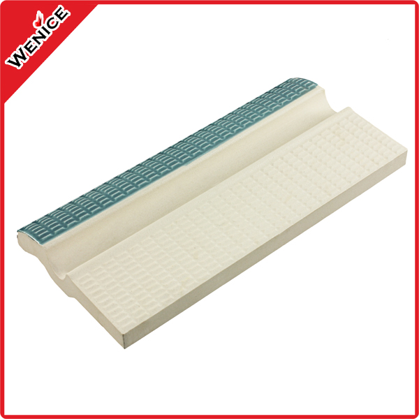 Blue swimming pool deck tile for sale
