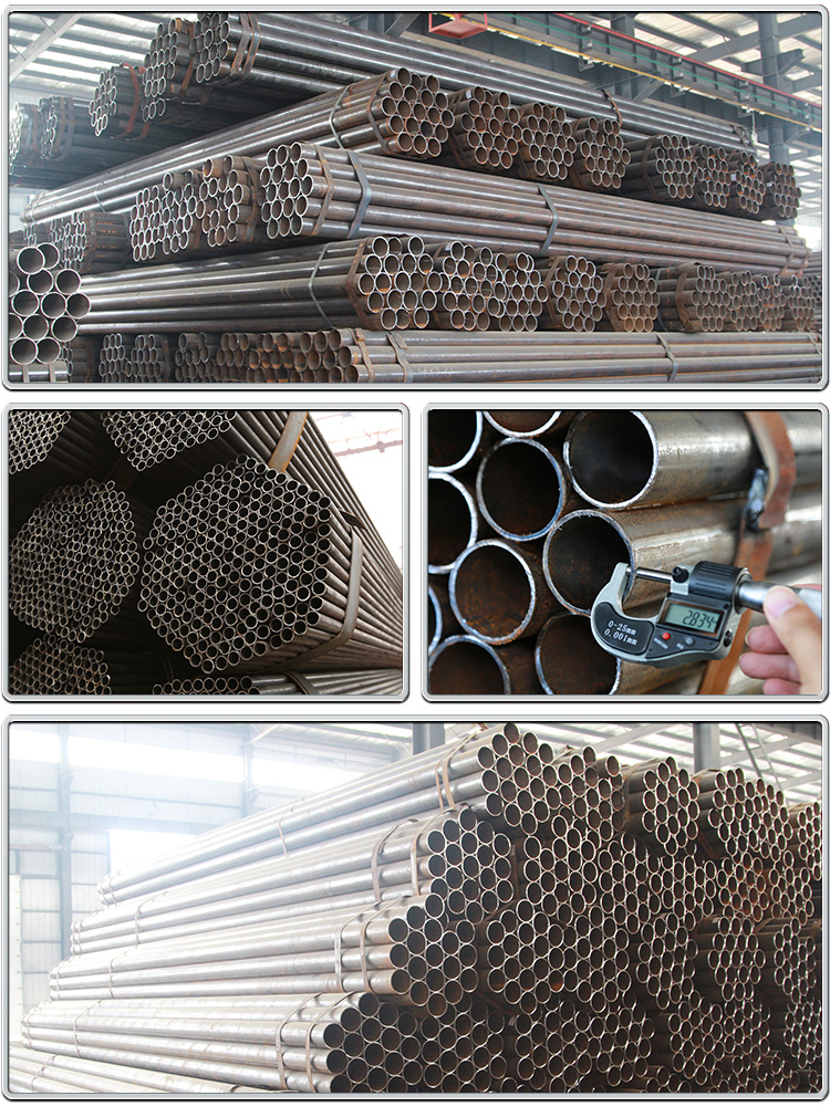 Black Steel Pipe / Welded Black Steel Pipe / ERW Steel Pipe