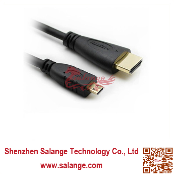 Micro HDMI USB Male to Male Data Cable by Salange