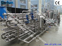 Better designed commercial fruit and vegetable juice tubular uht sterilizer system manufacturer