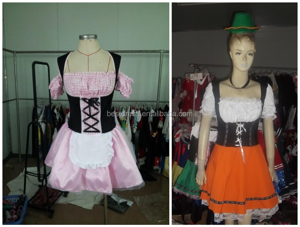 China Wholesale instyles Halloween Maid costumes OEM Cosplay Costume Fancy Dress in China