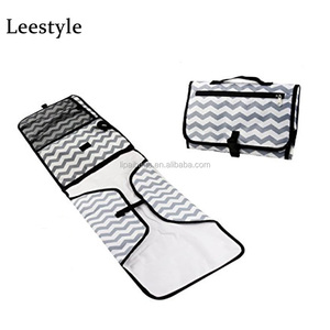 Eco-friendly Fashion Design Foldable Travel Diaper Changing Pad For Baby Care Custom Baby Portable Changing Pad