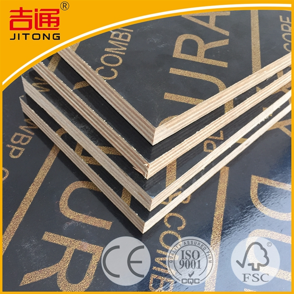 New 18mm 4x8 Concrete Formwork Waterproof Plywood from factory