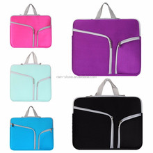 Waterproof Neoprene Material Sleeve Laptop Bag For Macbook With Handles Computer Bag