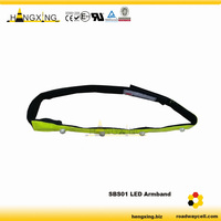 SBS01 Road Safety Police Reflective LED Sport Armband