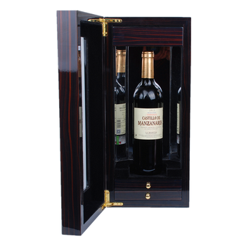 2018 High Gloss Lacquer Finish Luxury Wooden Wine Gift Box