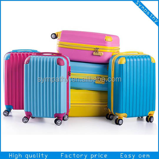 spinner luggage/ABS PC luggage/Carry-on suitcase