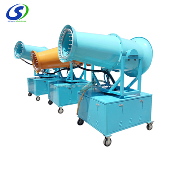 Automatic outdoor dust removal facility 100m industrial dust control