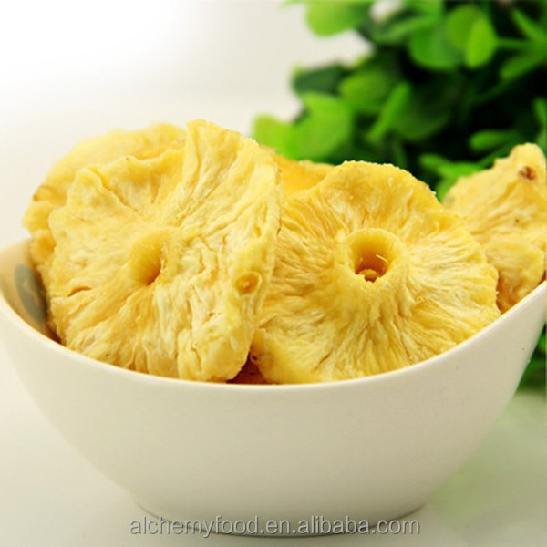 Chinese manufacturer delicious Dried Pineapple Ring, high quality with good price