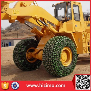 Factory Price Wheel Loader Tyre Protection Chain