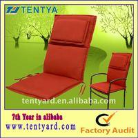 red patio chair cushions