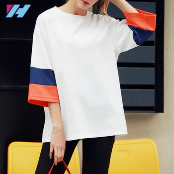 2017 New Arrival High Quality fashion Cheap t-shirt for women summer t-shirts