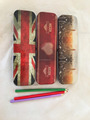colourful cool tin pencil case for kids