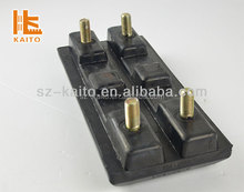 Vogele asphalt paver road milling bolt on rubber track pad