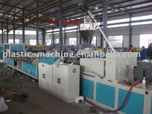 pvc /wpc extruding profile production line plastic machine