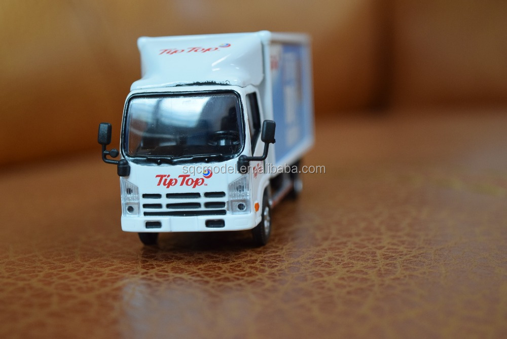 Miniature diecast truck model toy truck