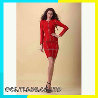 Brand 2015 spaghetti strap 2015 sexy bandage dress party dress and evening dress for woman