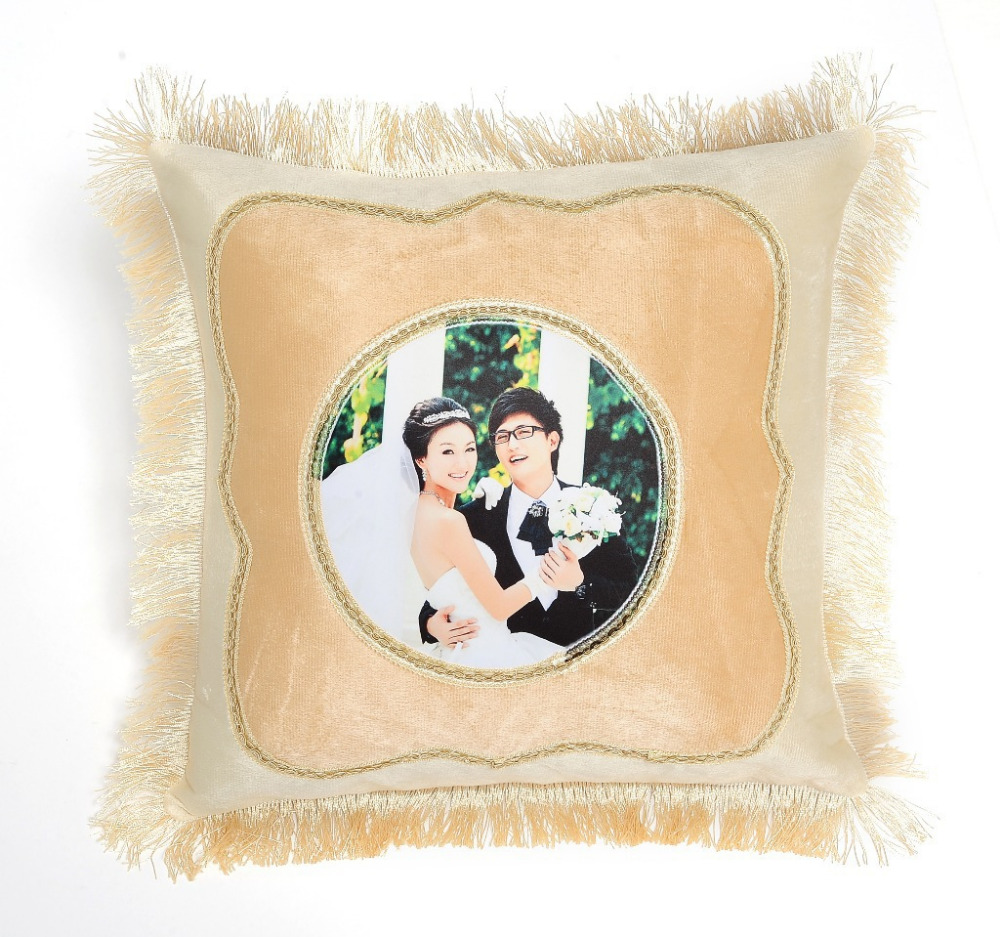 2016 new arrival OEM acception custom print pillow for business gift