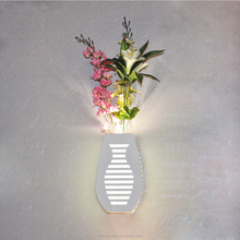 Hotel decorative flower shaped wall mounted lamp