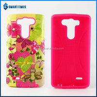 [Smart Times] TPU And PC 2 en 1 Case Protective Back Cover For LG G3 mini