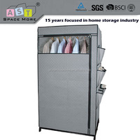 DIY OEM accept folding portable fabric wardrobe