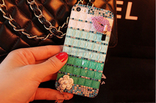 new year best charming products hard pc with luxury diamonds shining bling crystal rhinestone mobile phone case for iphone 7