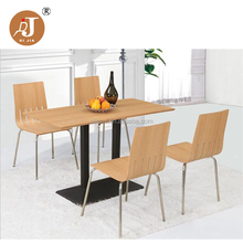 Promotional Fast Food Restaurant Cheap Dining Table and Chair for Sale