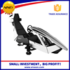 Sleek line thick crystal white play car racing game machine electric racing go karts sale