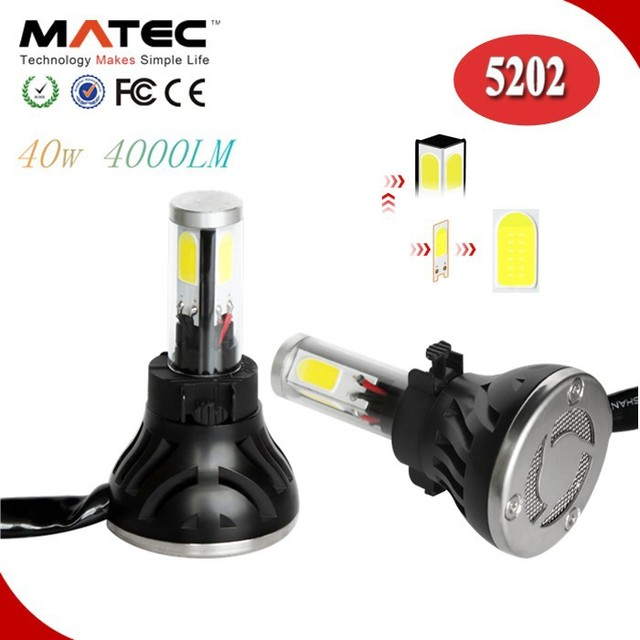 Newest Products 9-36v high lumen 5202 Car Led Headlight Tiguan