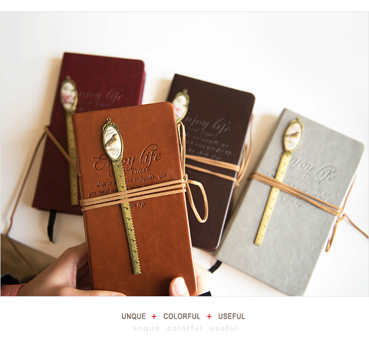 Languo fabric covered gift cute journal notebook
