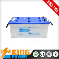 12V180AH dry charged battery for bus(HIGER & KINGLONG) N180