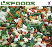 chinese new crop IQF FROZEN MIXED VEGETABLES