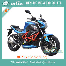 China Made racing race pupular in europe CHEAP street motorcycle XF2 (200cc, 250cc, 350cc)