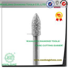vacuum brazed 1/4 inch diy spring loaded engraving bit-spring loaded engraving bit for stone