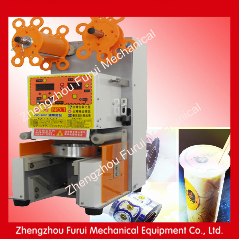 2014 semi automatic tube filling sealing machine/automatic bubble tea cup sealing machine/automatic plastic bag sealing machine