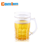 CL1C-M94 Comlom Beer Color Liquid Frosty Freezer Mug