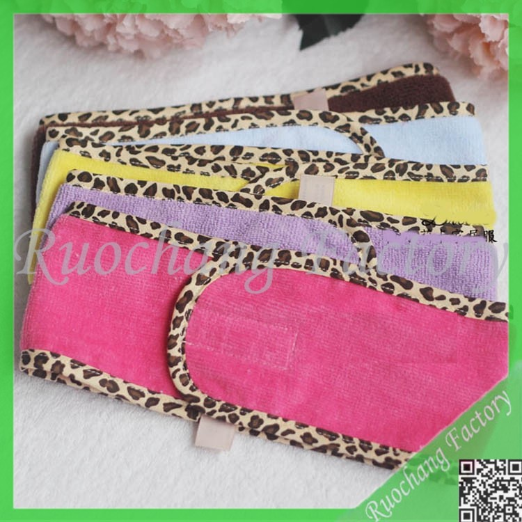 2015 hotsale cheap fashion hair fabric waterproof shower cap