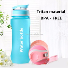 Gym fitness 600ml high quality Tritan plastic nalgene OTF sport custom private lable shaker water bottle