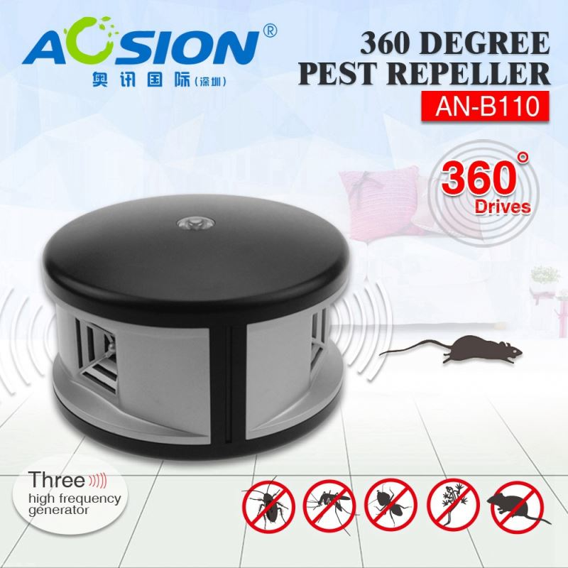 Aosion patent good performance repel mice rat ant bug 360deg mouse ultrasonic device