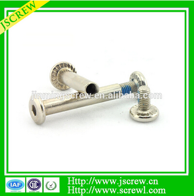 Hot sales high strength male and female bolts for industrial chair