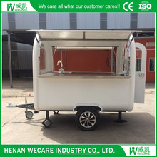 Newest Factory Supply Tricycle Food Vending Cart food trailer
