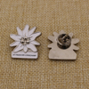 Wholesale Cheap Custom Flower Lapel Pin