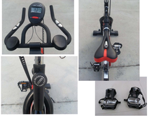 leg extension outdoor exercise spinning bike