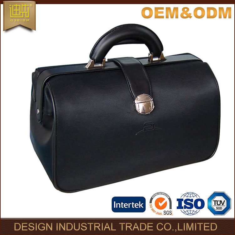 leather bag PU lawyer art top fashion design high quality art men leather custom color briefcase bag for latch lock with key