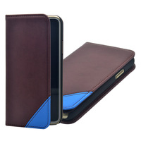 Wallet case & stand function leather cover case for iPhone X