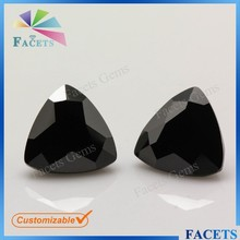 Names Black Gemstone Cubic Zirconia Price High Quality Black Diamond India Wholesale