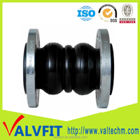 Flexible Rubber Joint Double Sphere