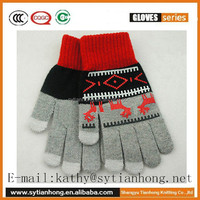 New fashion touch screen gloves for iPone, Tablet PC, ATM devices wholesale