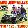 Mini Jeep Willys 110cc